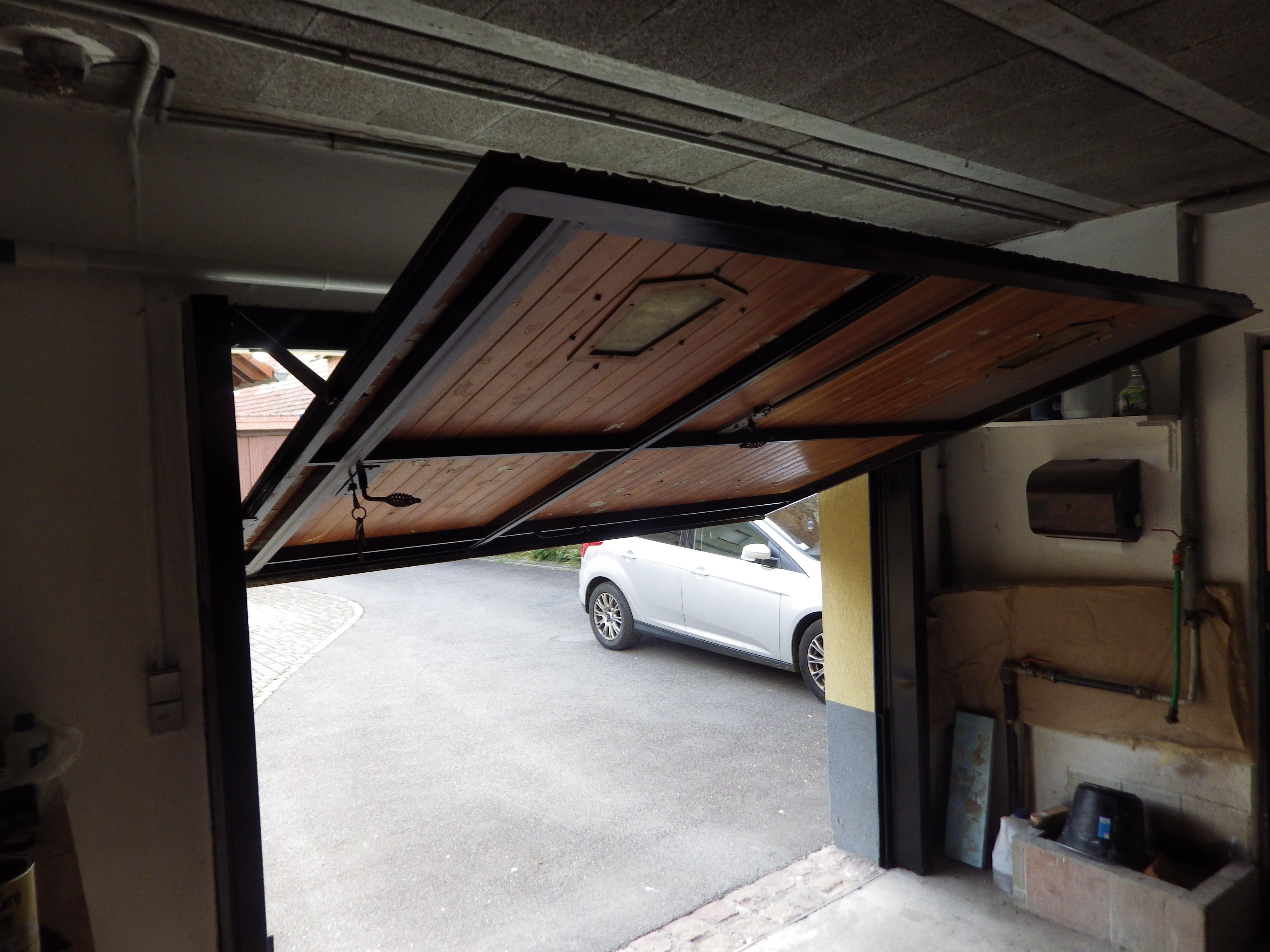 Motorisation Porte De Garage Basculante à Contrepoids Avec Réponses - Motorisation porte de garage basculante