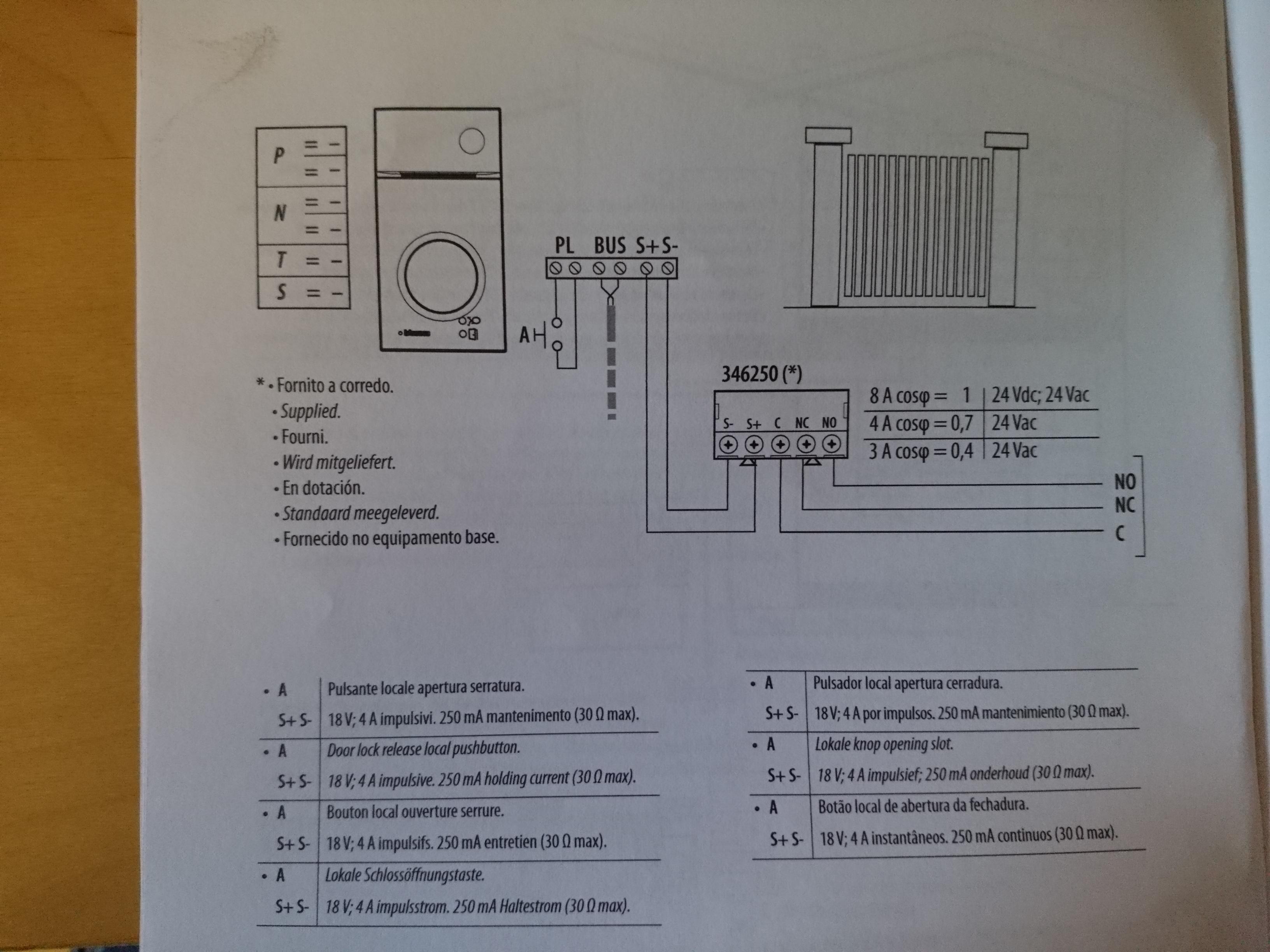 Ouverture portail avec evolvia 400 bticino 300 r solue - Somfy evolvia 400 ...