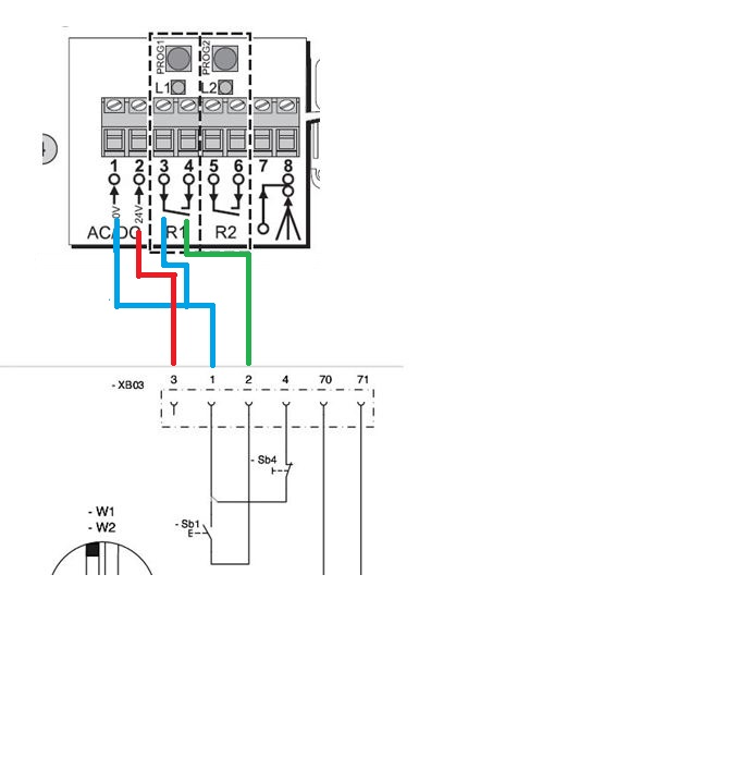 Montage moteur somfy beautiful metteur radio somfy telis for Montage porte de garage enroulable somfy