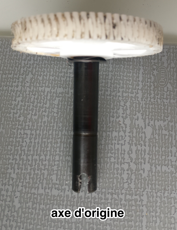 axe moteur gdk 3000 4000 re u non compatible avec mon. Black Bedroom Furniture Sets. Home Design Ideas