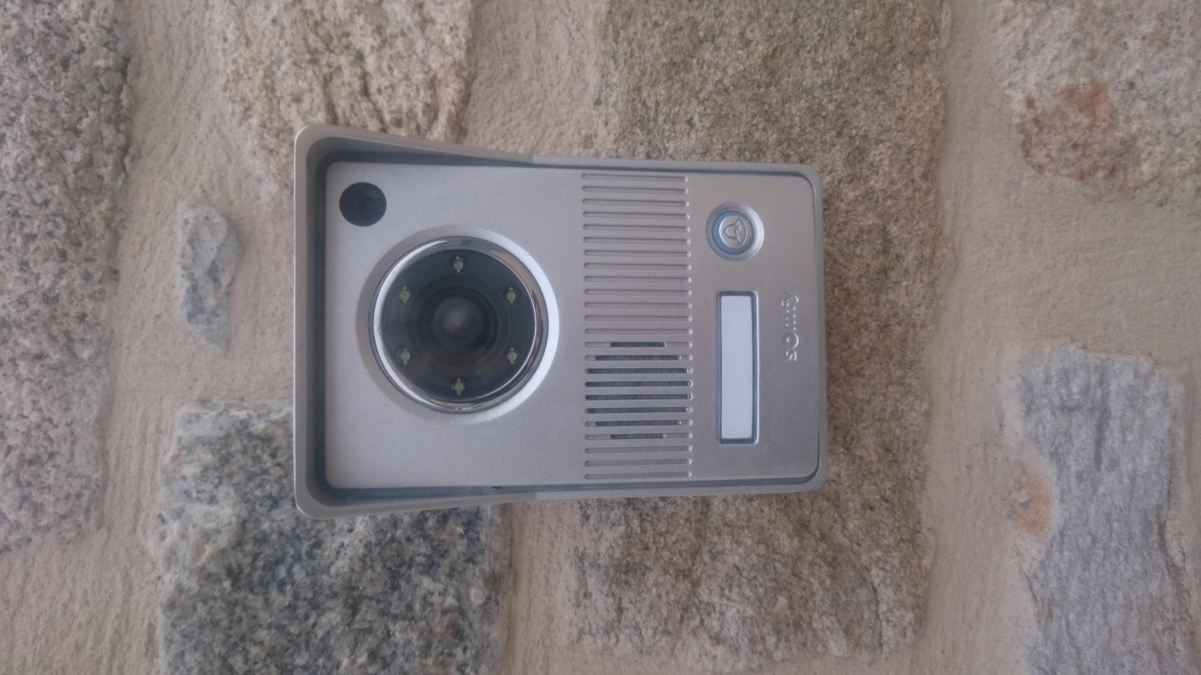 Visiophone v400 humidit interieur avec r ponse s - Visiophone somfy v400 ...
