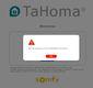 Problème connection TaHoma.JPG