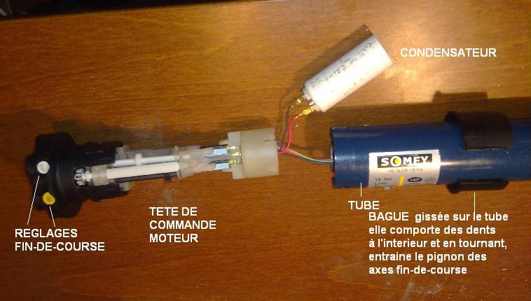 Volet Roulant Somfy Installé En 2005 Ne Remonte Plus Que De 4 Cm
