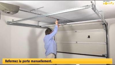 Porte sectionnelle ne se ferme pas compl tement r solue for Porte de garage vendome avis