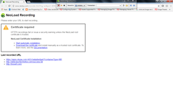 NeoLoad Error in chrome.png
