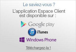 Applis Espace Client Mobile