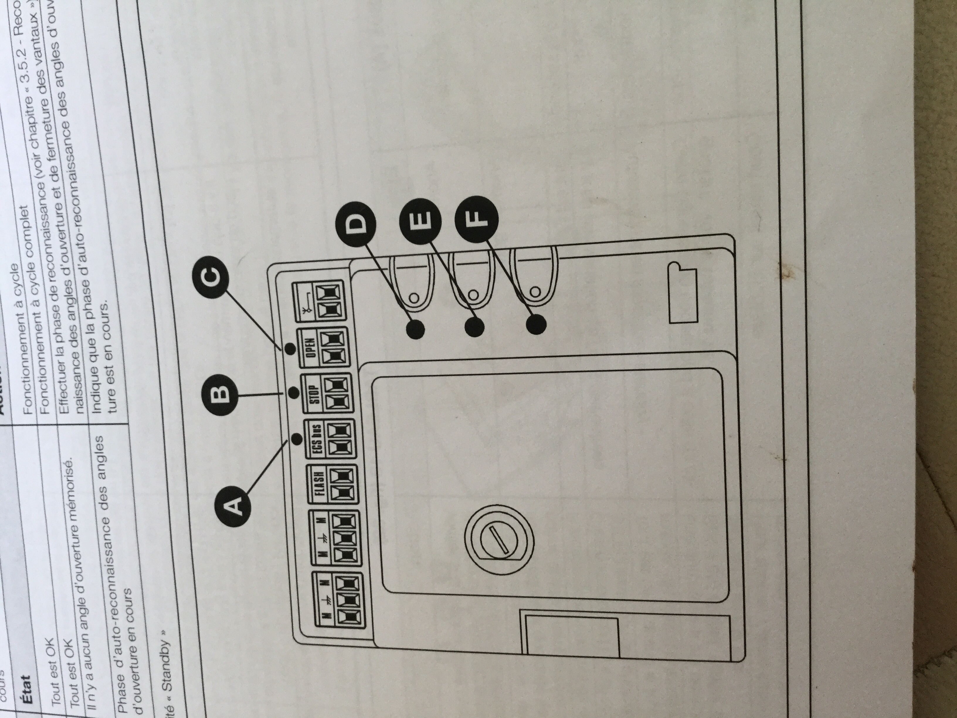 sch ma de c blage motorisation portail nice avec r ponse s. Black Bedroom Furniture Sets. Home Design Ideas