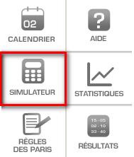 Image simu menu