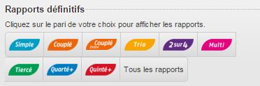 rapports paris PDV