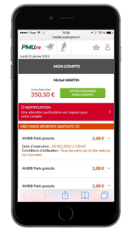 Image compte mobile