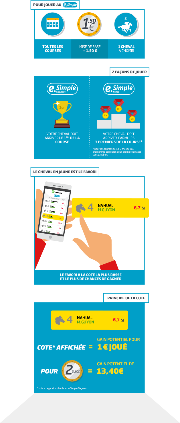 infographie e-simple PMU