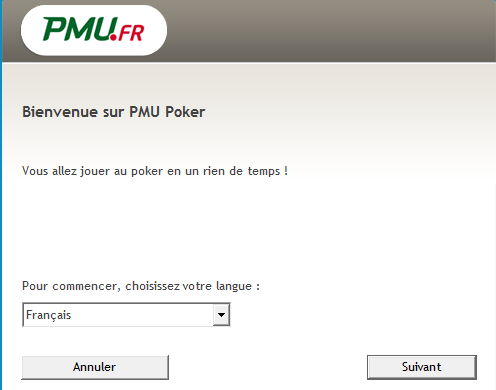 Installation PMU Poker