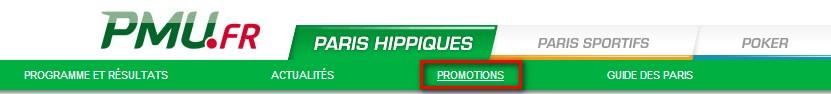 rubrique promotions hippique