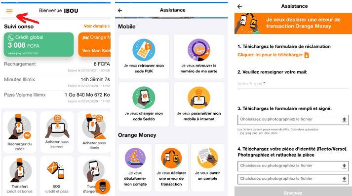 Comment faire une demande d'annulation de transaction Orange Money suite à une erreur sur le numéro du destinataire.JPG