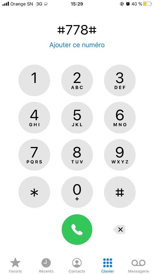 Pour bénéficier d'un SOS Illimix, composez vite le #778# et continuez à appeler, envoyer des sms et vous connecter à Intern.jpg