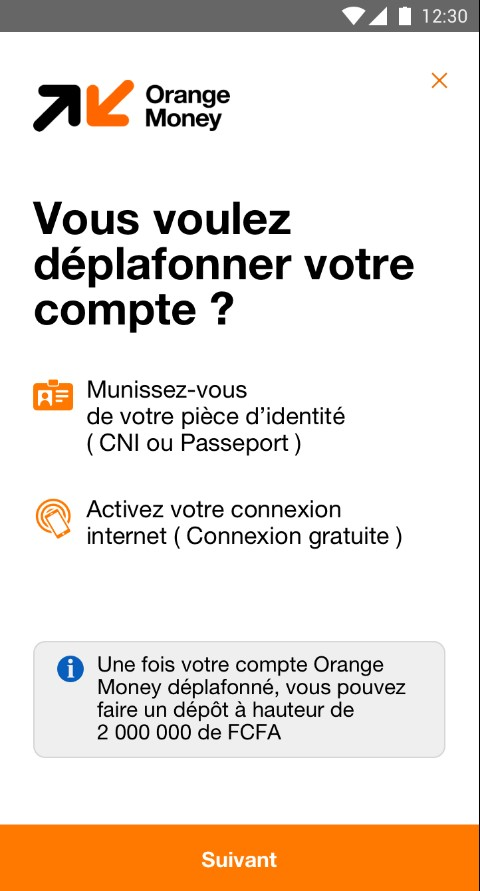 Deplafonnement compte Orange Money.jpg