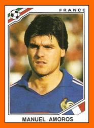 Manuel AMOROS Panini France 1985.png