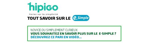 header e-simple