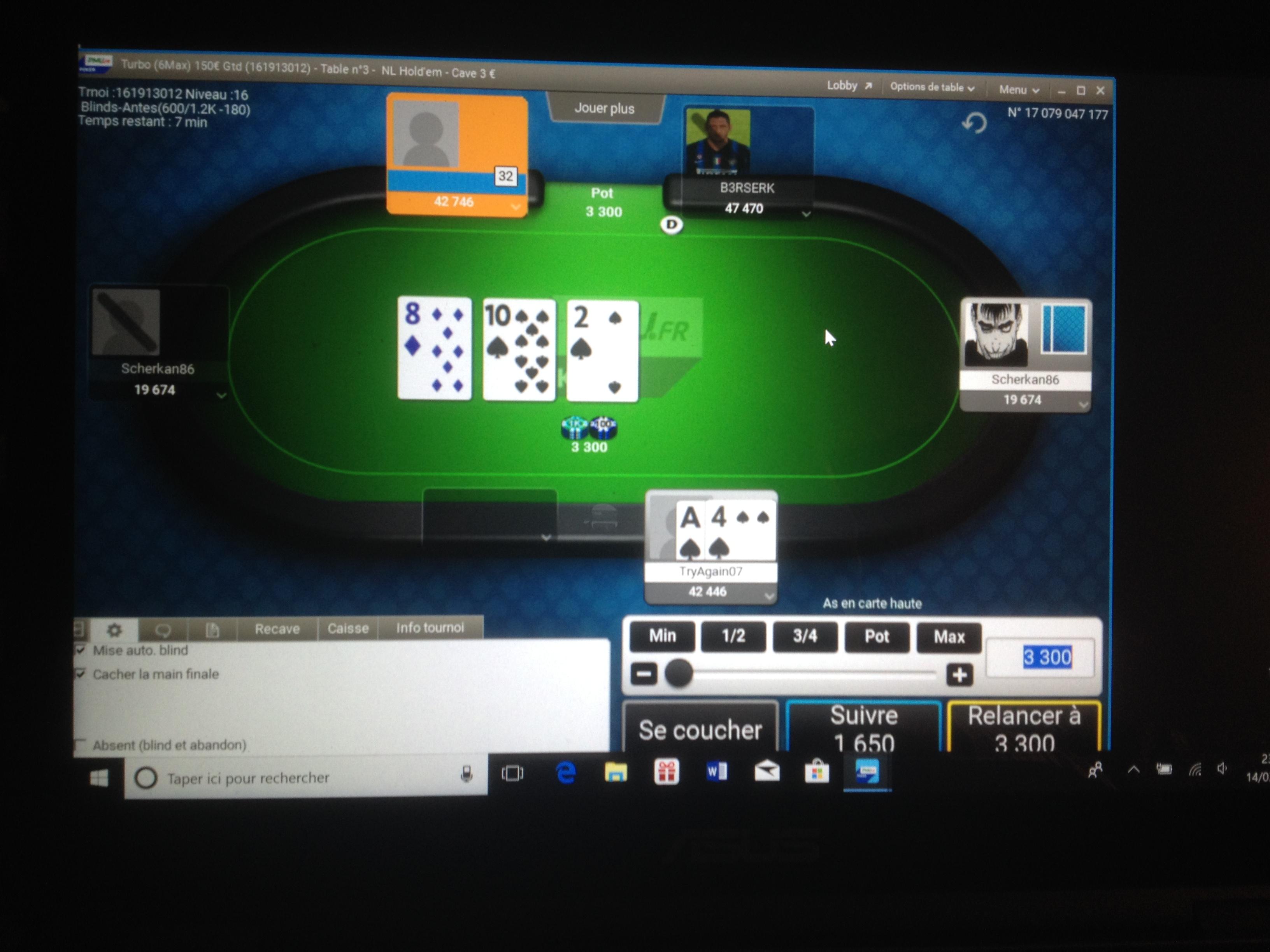 Probleme transfert pmu poker gibson casino review