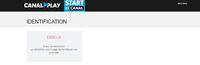 Espace client non disponible - My Canal.JPG
