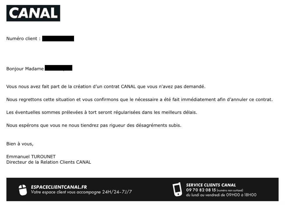 Arnaque Essai Canal Plus Gratuit Avec Bouygues Telecom Avec Reponse S
