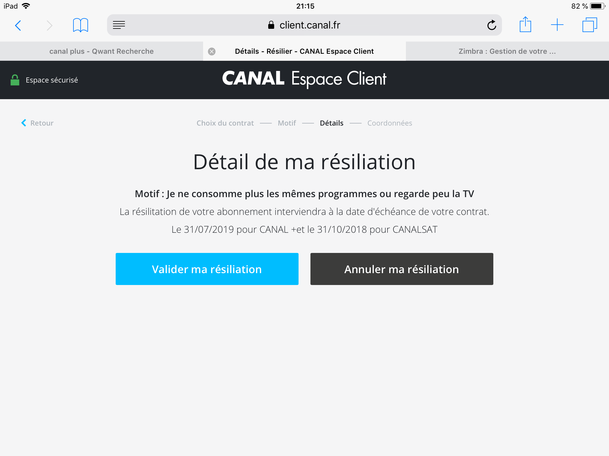 Resiliation Canalsat Panorama Avec Reponse S