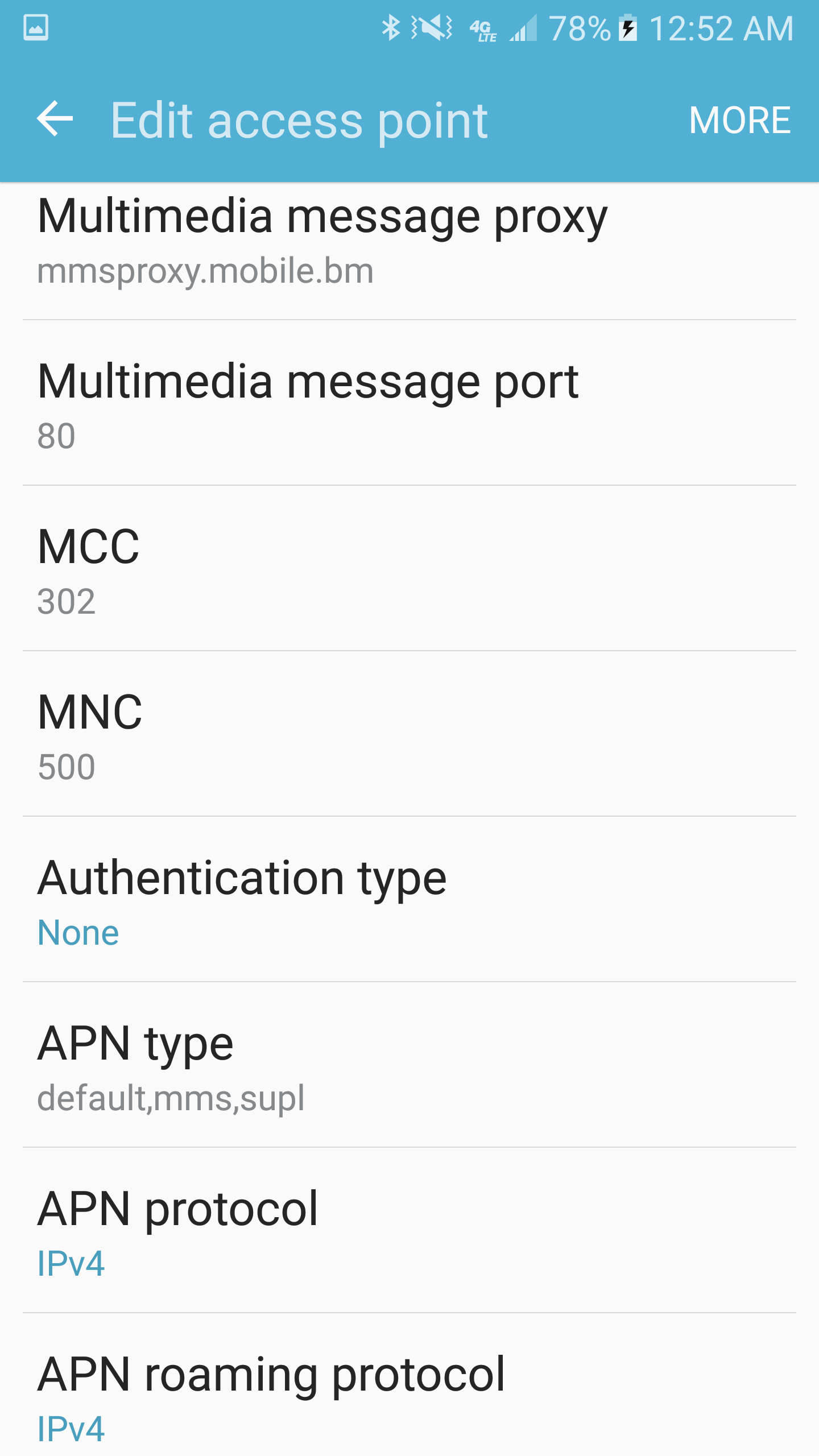 No data even after APN configuration (android)? - Solved