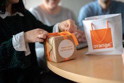 Orange Thank You