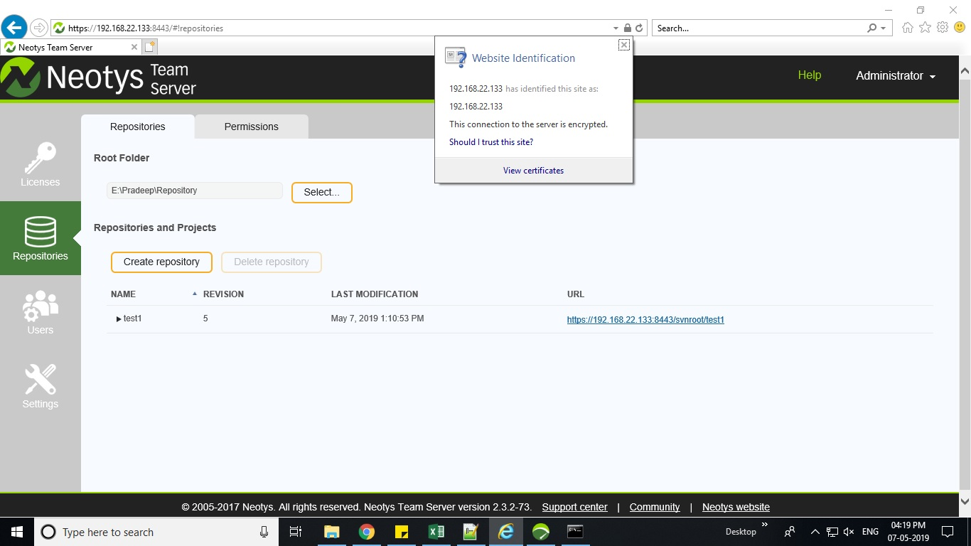 How to Open Neotys Team Server in HTTPS mode - Answered